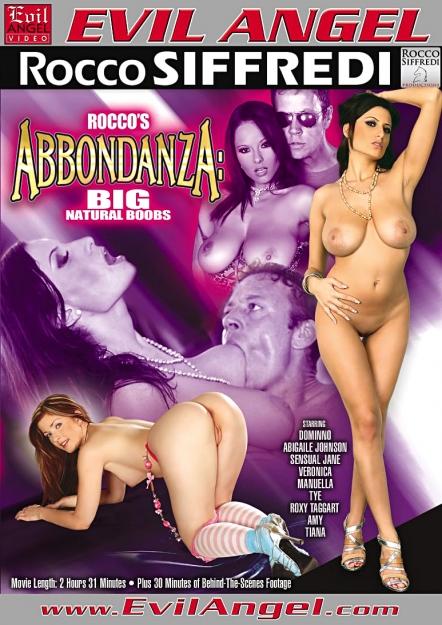 Download Rocco's Abbondanza:Big, Natural Boobs DVD