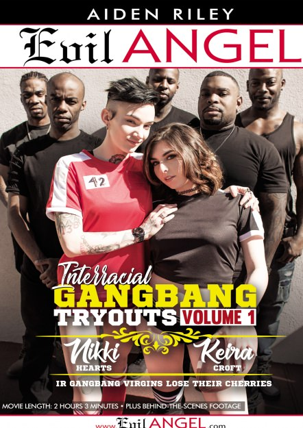 Download Interracial Gangbang Tryouts Volume 1 DVD
