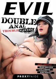 Double Anal Troublemakers, Scene 01