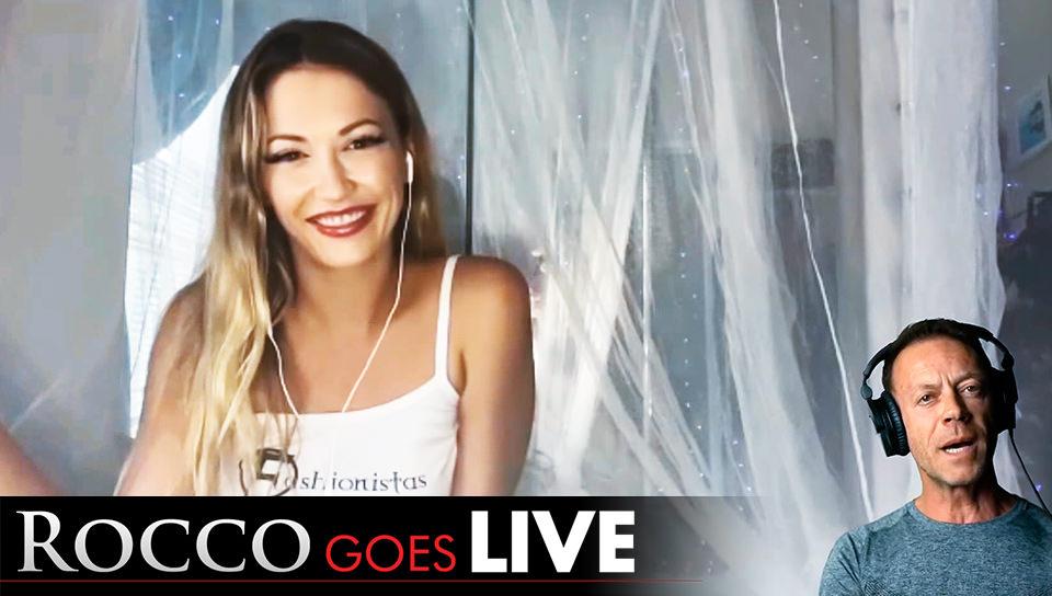 Rocco Goes LIVE with Adira Allure!