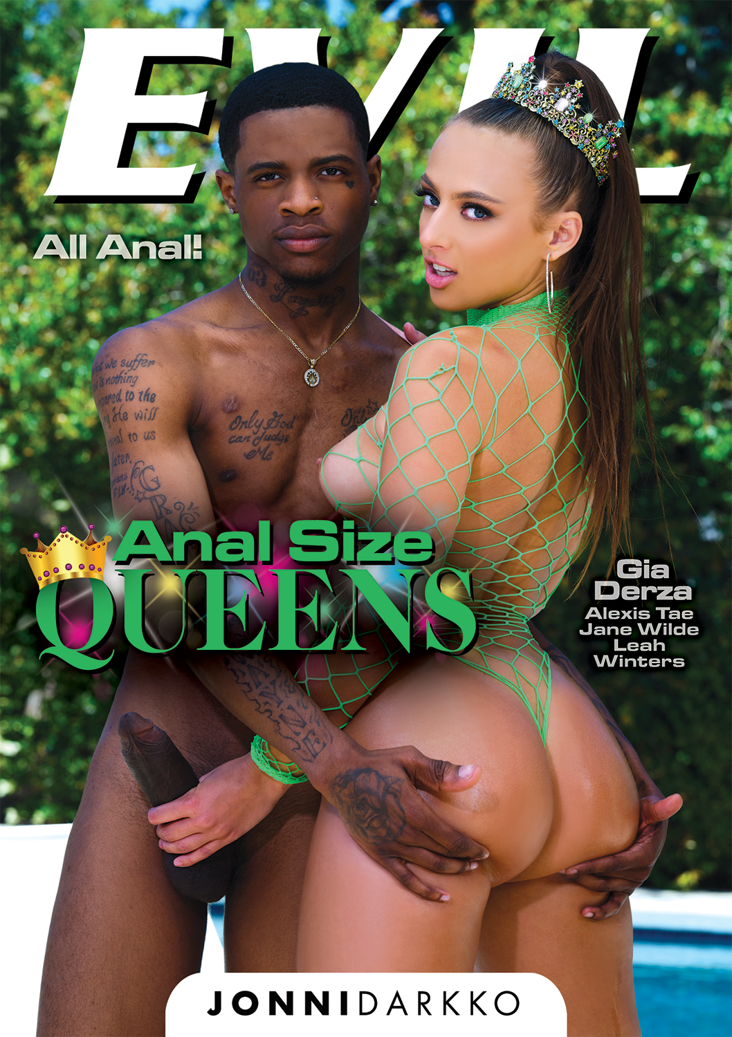 Anal Size Queens, Scene 03