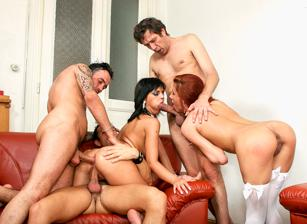 Slutty And Sluttier 04, Scene 01