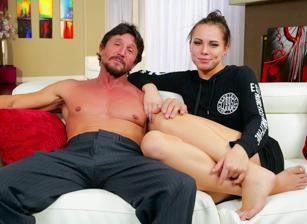 BTS-I Blackmailed My Stepdaughter's Ass, Scene 01