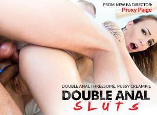 Double Anal Sluts, Scene 01