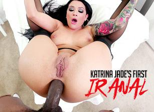 Katrina Jade's First Interracial Anal, Scene 01
