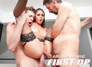 Ariana Marie: First DP Makes Her Gape!, Scene 01