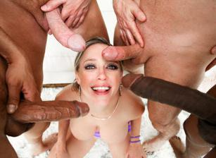 LeWood Gangbang: Battle Of The MILFs 04, Scene 02
