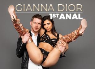 Gianna Dior's 1st Anal